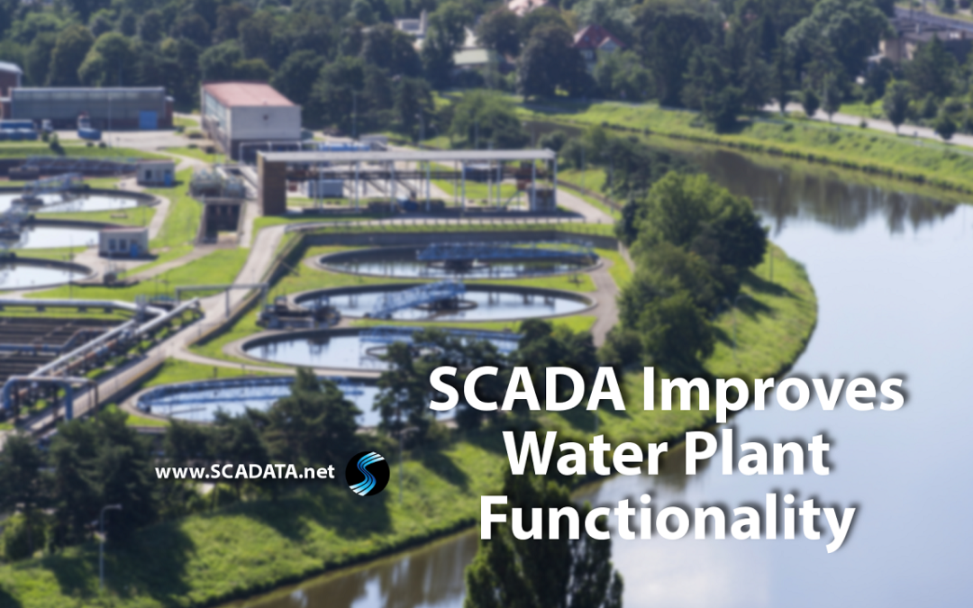 SCADA Improves Water Plant Functionality