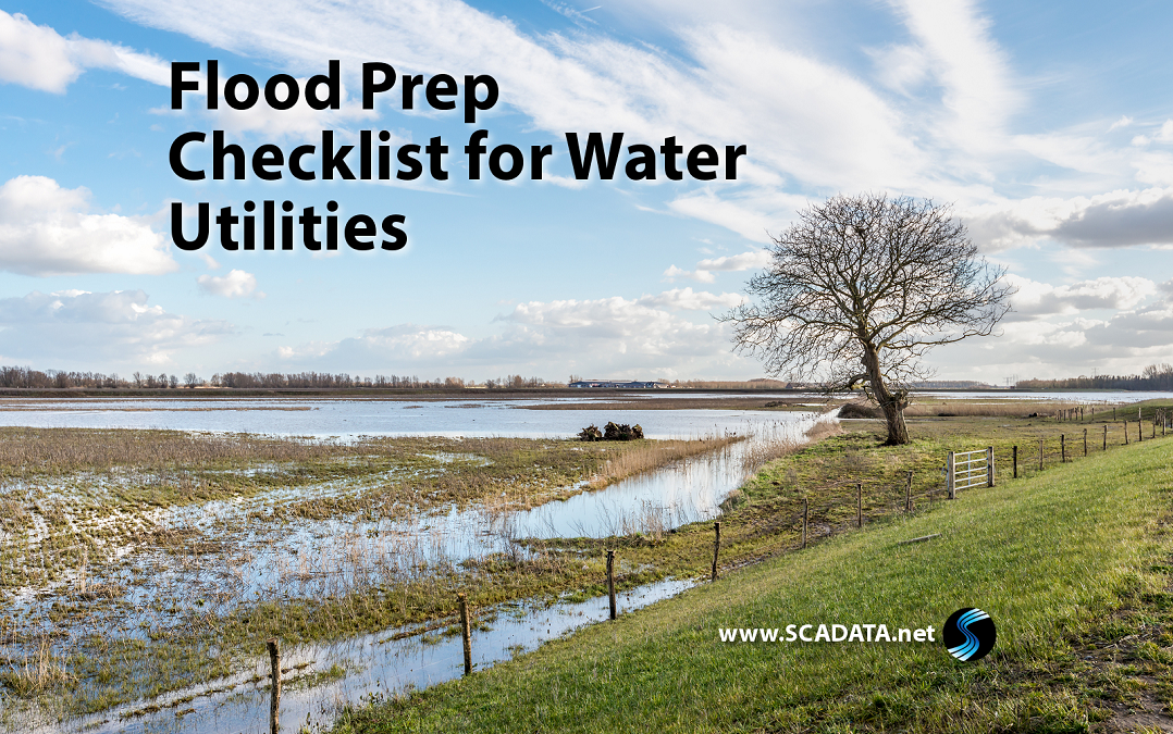Flood Prep Checklist for Water Utilities