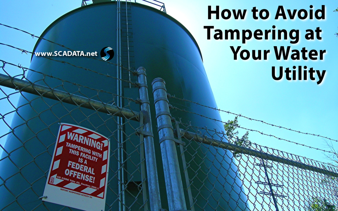 How to Avoid Tampering at Your Water Utility